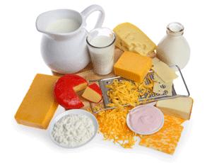 Intolleranza al lattosio e alimenti consigliati