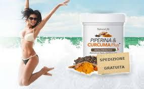 PiperinaCurcuma Plus – commenti – ingredienti – erboristeria – come si usa – composizione