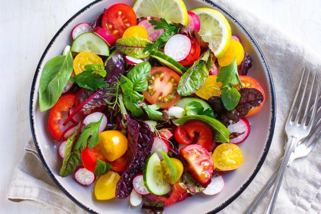 Nutrienti chiave in una dieta dimagrante - la dieta vegetariana è salutare