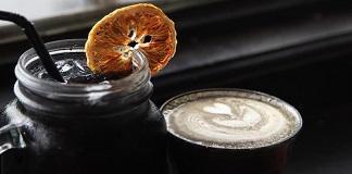 black latte in erboristeria