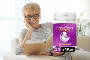 MenoPause Energy, come si usa, ingredienti, composizione, funziona
