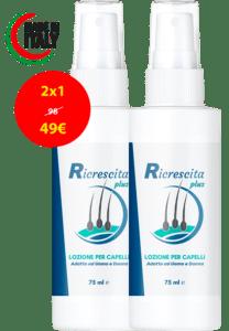 Ricrescita Plus, prezzo, funziona, recensioni, opinioni, forum, Italia 2020