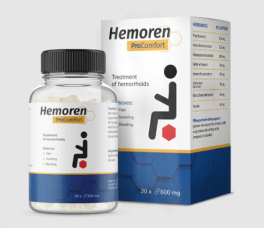 Hemoren ProComfort, prezzo, funziona, recensioni, opinioni, forum, Italia 2021